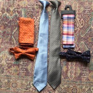 Youth Bow tie/ Tie Bundle